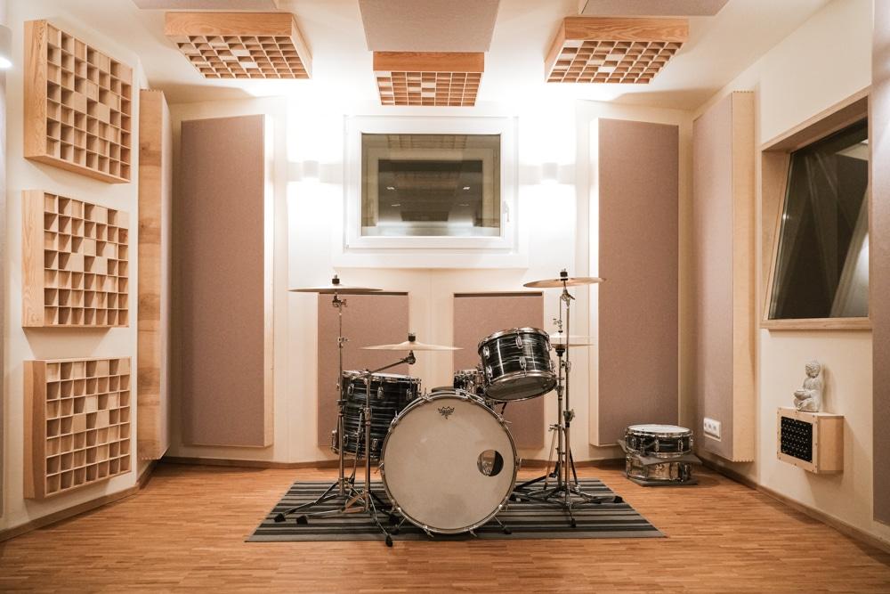 Tonstudio Würzburg Blackmount Reecordings Studiobild Drums