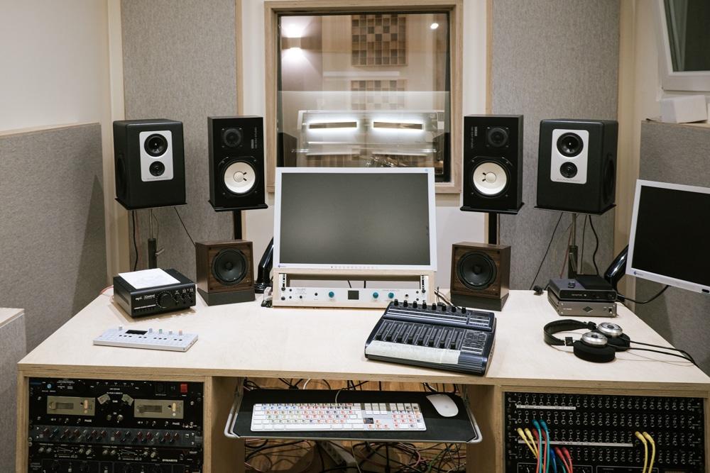Tonstudio Würzburg Blackmount Reecordings Studiobild Barefoot