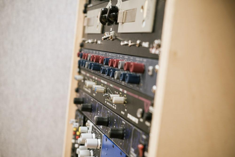 Tonstudio Blackmount Reecordings Studiobild Neve 8803