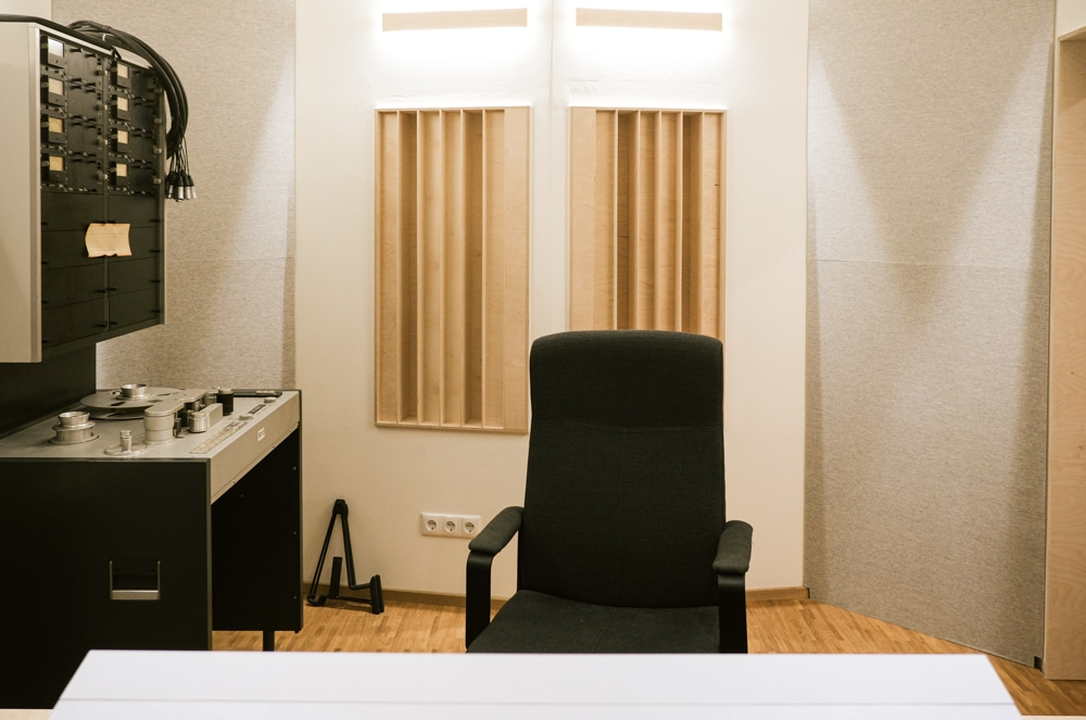 Blackmount Reecordings Studiobild