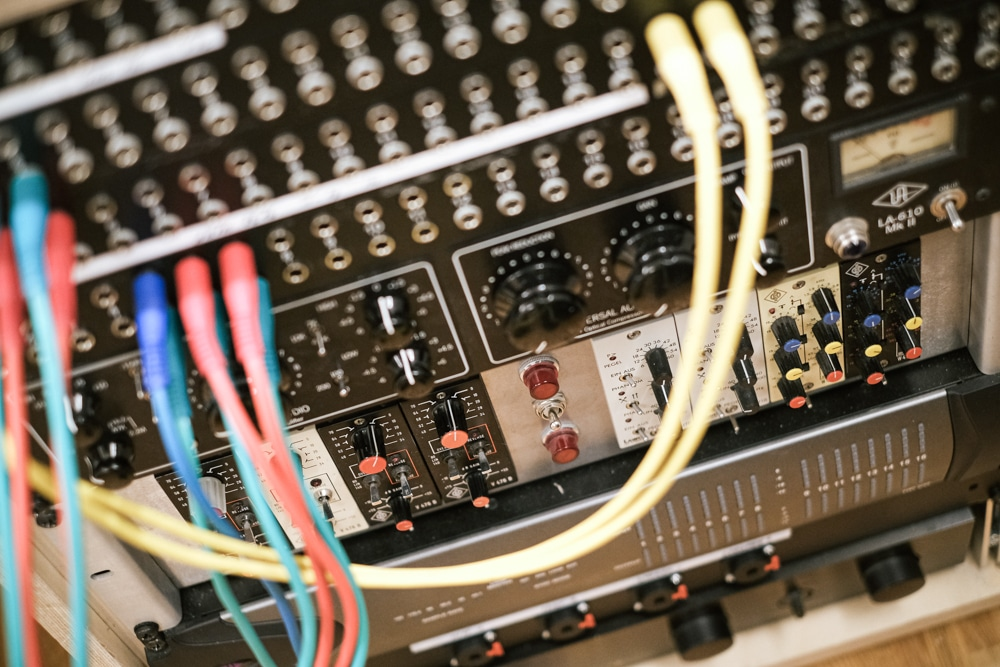 Tonstudio Blackmount Reecordings Studiobild Neumann